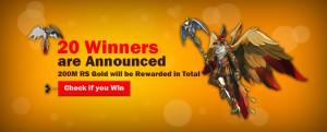 20 Winners