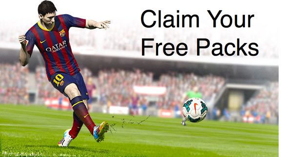 free packs, online players, FIFA 15