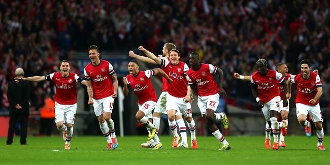 English Premier League game,